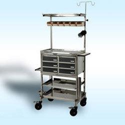 Hospital Emergency Trolley