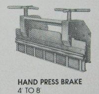 Hand Press Brake