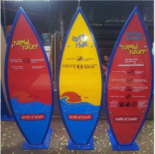 ACP Printed Directional Signage