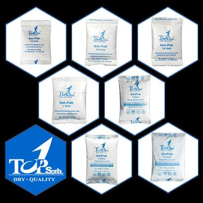 Highly Effective Clay Desiccant Packets