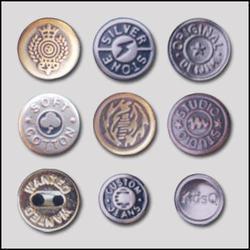 Fancy Metal Button