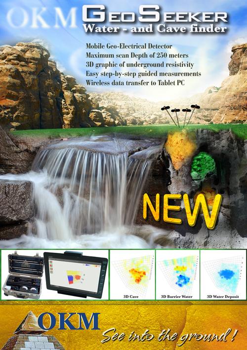 Geoseeker Geoelectrical Water Finder And Cavity Detector