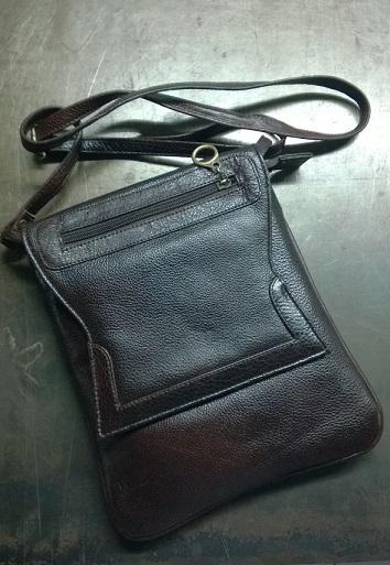 Cross Shoulder Leather Bag