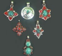 Silver Pendent Set