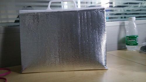 Food Foam Insulation Material Handle Packaging Bags