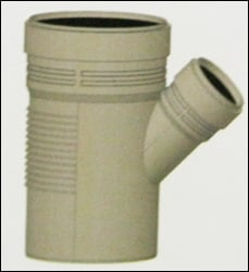 Reducing Y Pipe Fitting