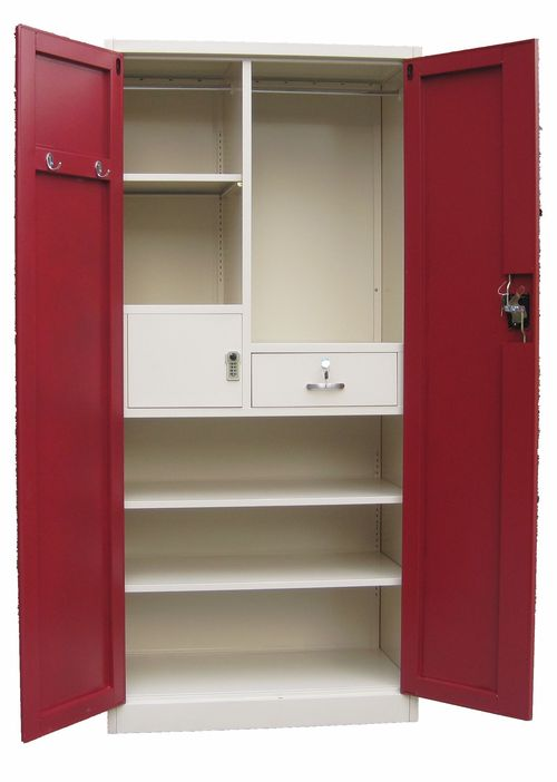 Customize Metal Wardrobe Closet at Best Price in Luoyang ...