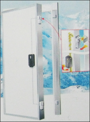 Puf Doors With Electrical Fastening Points (Hinged Type)