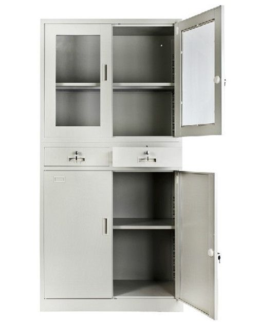 2 Drawers Metal Cabinet