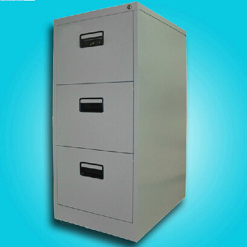 3 Drawers Grey Storage Cabinet in   Mudan Avenue