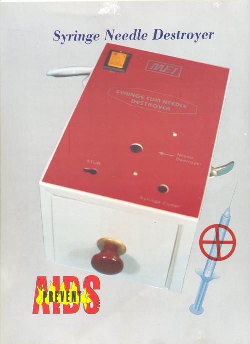 Syringe Needle Destroyer Machine