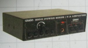 Grand Amplifiers (GPA 50 BL DLX)