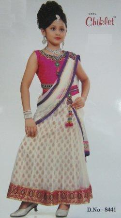 6b513e814 Girl Child Lehenga Choli - UJALA FASHION PVT. LTD.