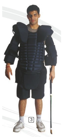 Gisco Shoulder Guard With Shorts