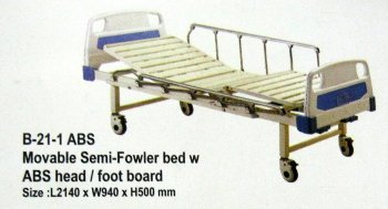 Movable Semi-Fowler Bed With Abd Head/Foot Board