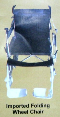 Imported Folding Wheel Chair
