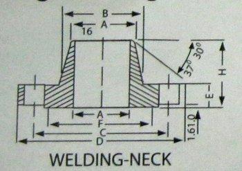 Welding-Neck Flanges