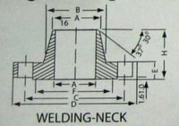 Welding-Neck Flanges