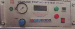 Parametric Vacuum Leak Tester