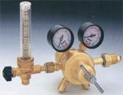 Regulator with Flowmeter