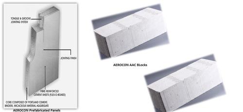 Aerocon Prefabricated Panels And Aerocon AAC Blocks