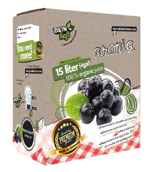 Dein Saft Premium Bag-in-Box Aronia Organic Concentrate Fruit Juice in  3422 Old Capitol Trail- Suite 102