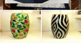 Esquisite Pattern Glass Vase