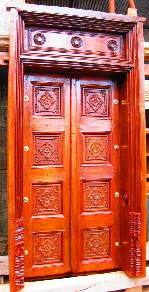 Attractive Design Door With Door Frame in Chennai, Tamil Nadu ...