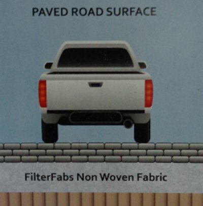 Non Woven Geotextiles For Paved Surfaces