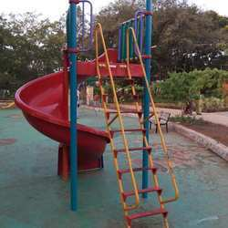 Spiral Slide 1.5 mtr. with M.S. Ladder