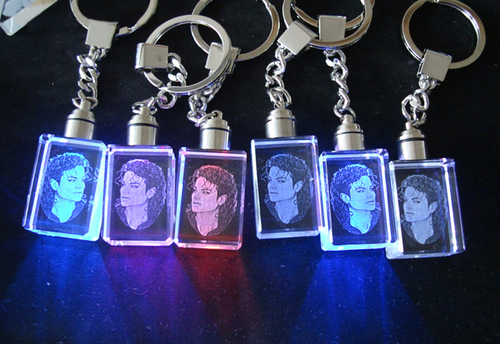 Led Light K9 Blank Promotional Cheap Crystal Glass Keychain