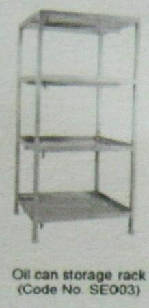 Oil Can Storage Rack (SE003) in  Ekkattuthangal