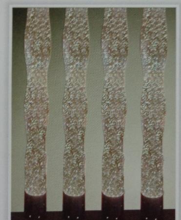Fairy Lady Designer Glass Pillars