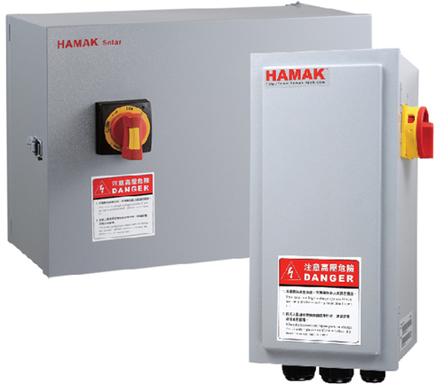 HAMAK Solar Combiner Box
