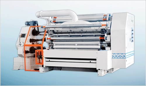 Double Roller Single Facer Machine in  Kundrathur Road