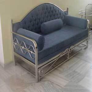 Stainless Steel Sofa Bed In Basti Abdulapur