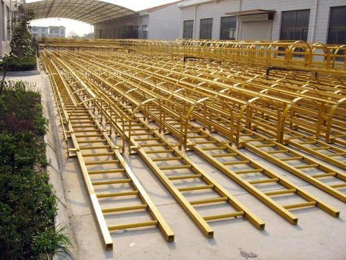 Grp Safety Caged Ladder