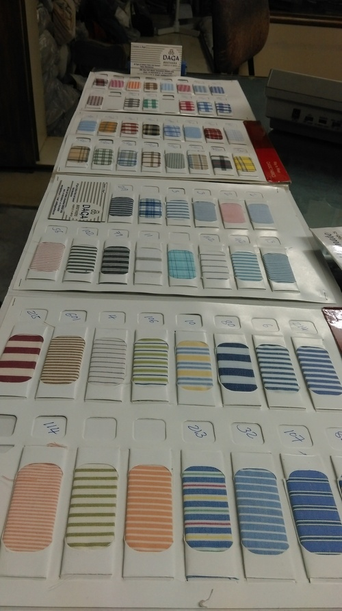 Uniform Shirting Yarn Dyed Checks
