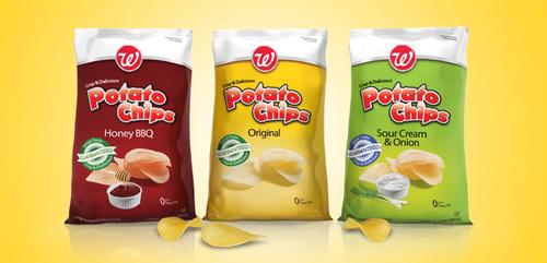 Potato Chips Packaging Bag
