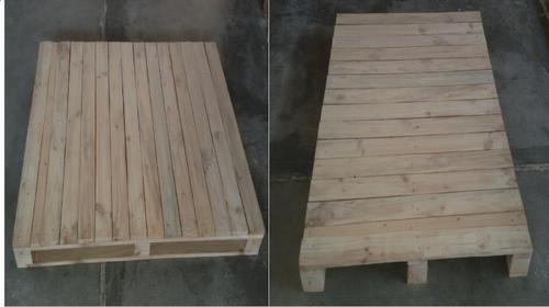 Stacking Auto Component Pine Wood Pallet