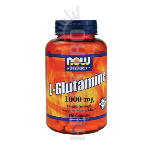 L-GLUTAMINE, 1000 mg, 120 Caps by Now Foods