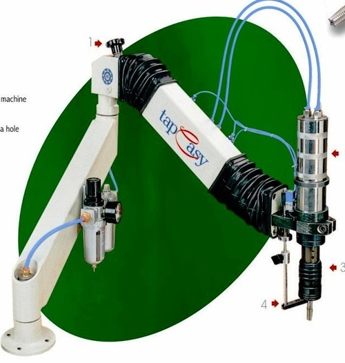 Tapeasy-Tapping Machine,Pneumatic/Electric/Hydraulic.