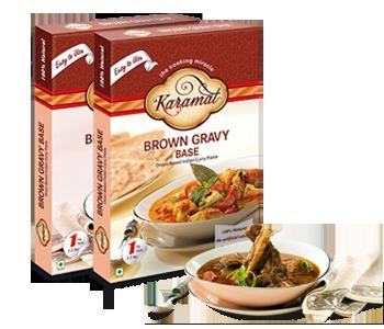 Brown Gravy Base Paste