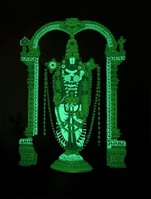 Balaji Glow In Dark Photo Frames Sree Bhagavan Publication 7 1 29