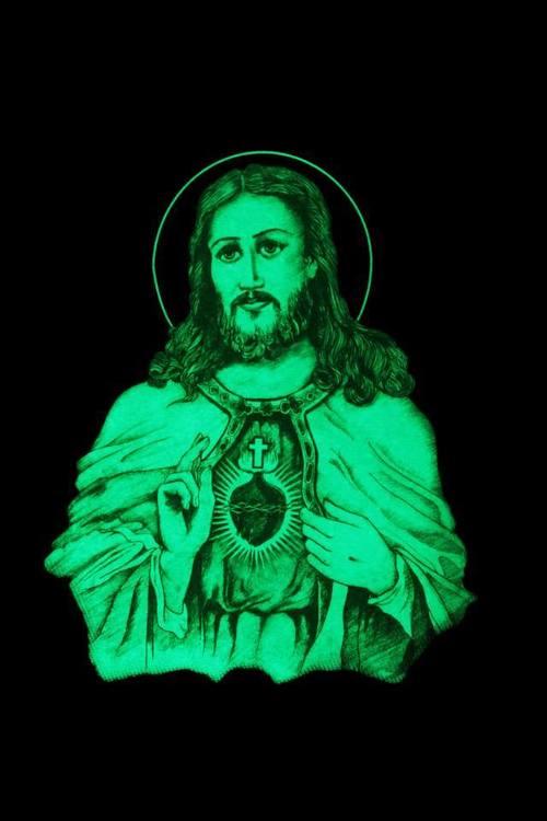 Jesus Christ Glow In Dark Photo Frames Sree Bhagavan Publication