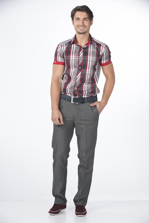 Fashionable Half Sleeve Men's Shirt