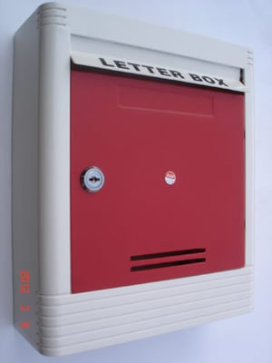 ABS Plastic Moulded Letter Box