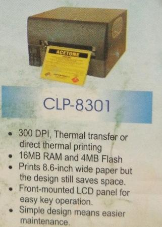 Barcode Printer (CLP 8301)