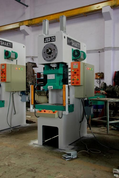 32 Ton Cross Shaft Press