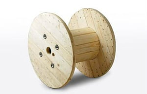 Durable Wooden Cable Drums